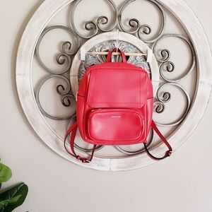 Hush Puppies Red Backpack